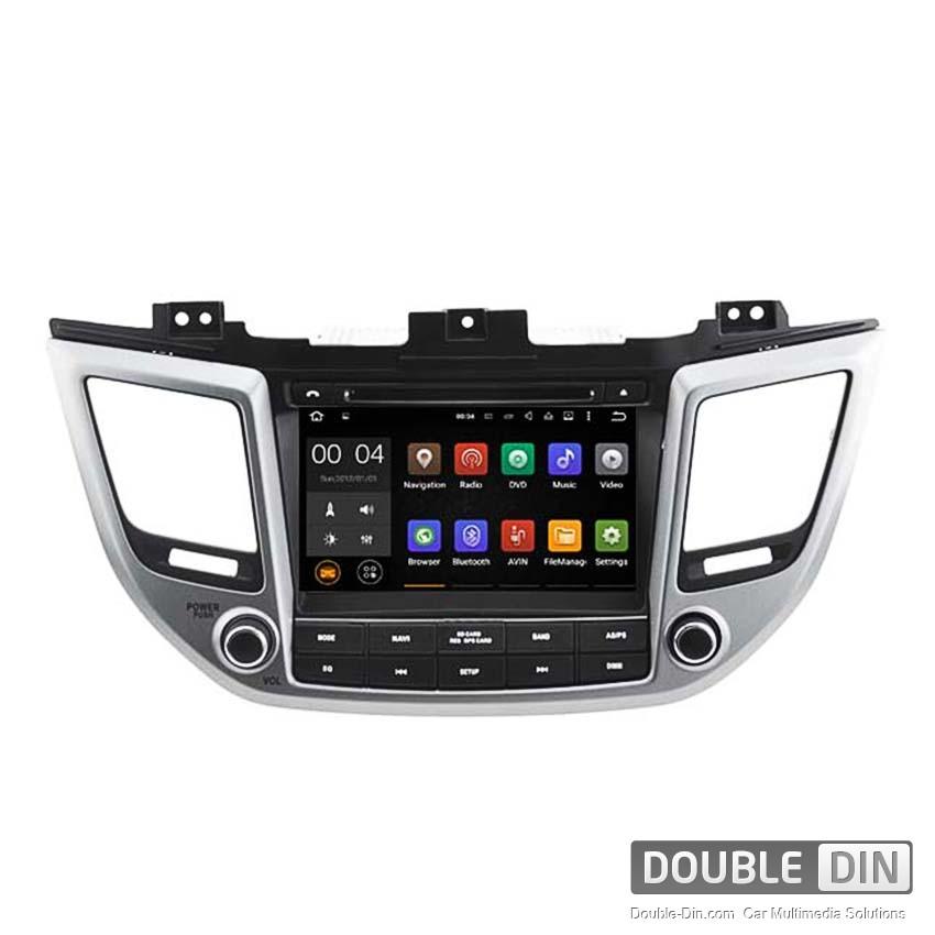 Навигация / Мултимедия с Android 8.0 или 7.1 за Hyundai IX 35, Tucson  - DD-5567