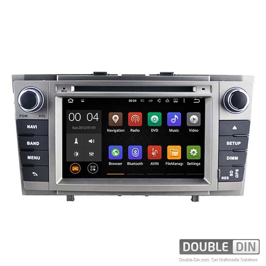 Навигация / Мултимедия с Android 6.0 или 7.1 за Toyota Avensis  - DD-5585
