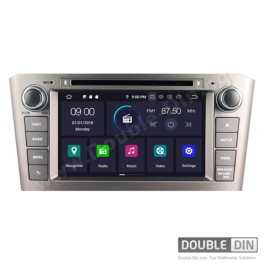 Навигация / Мултимедия с Android 10 за Toyota Avensis  - DD-5587