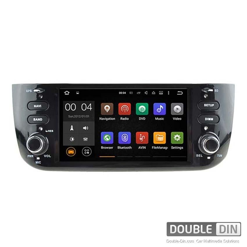 Навигация / Мултимедия с Android 6.0 или 7.1 за Fiat Punto  - DD-5594