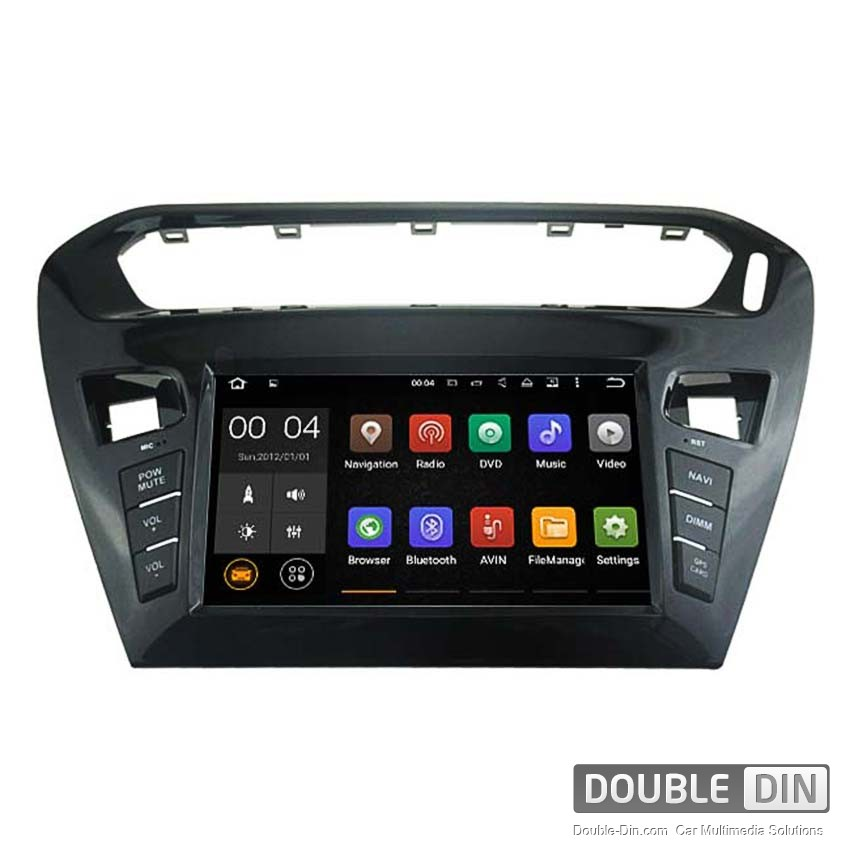 Навигация / Мултимедия с Android 8.0 или 7.1 за Peugeot 301 Elysee  - DD-5695