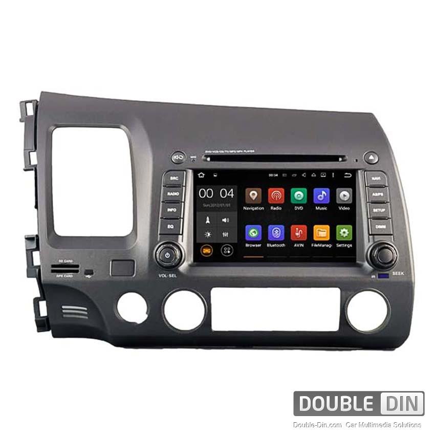 Навигация / Мултимедия с Android 8.0 или 7.1 за Honda Civic  - DD-5710
