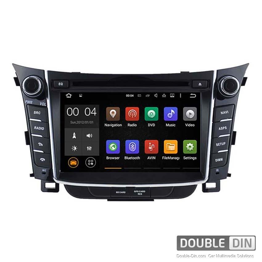 Навигация / Мултимедия с Android 8.0 или 7.1 за Hyundai I30  - DD-5724