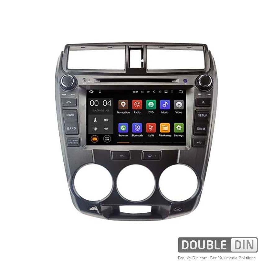 Навигация / Мултимедия с Android 8.0 или 7.1 за  Honda City - DD-5777