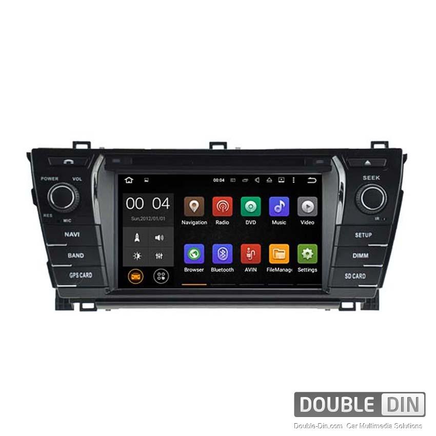 Навигация / Мултимедия с Android 8.0 или 7.1 за Toyota Corolla - DD-5781