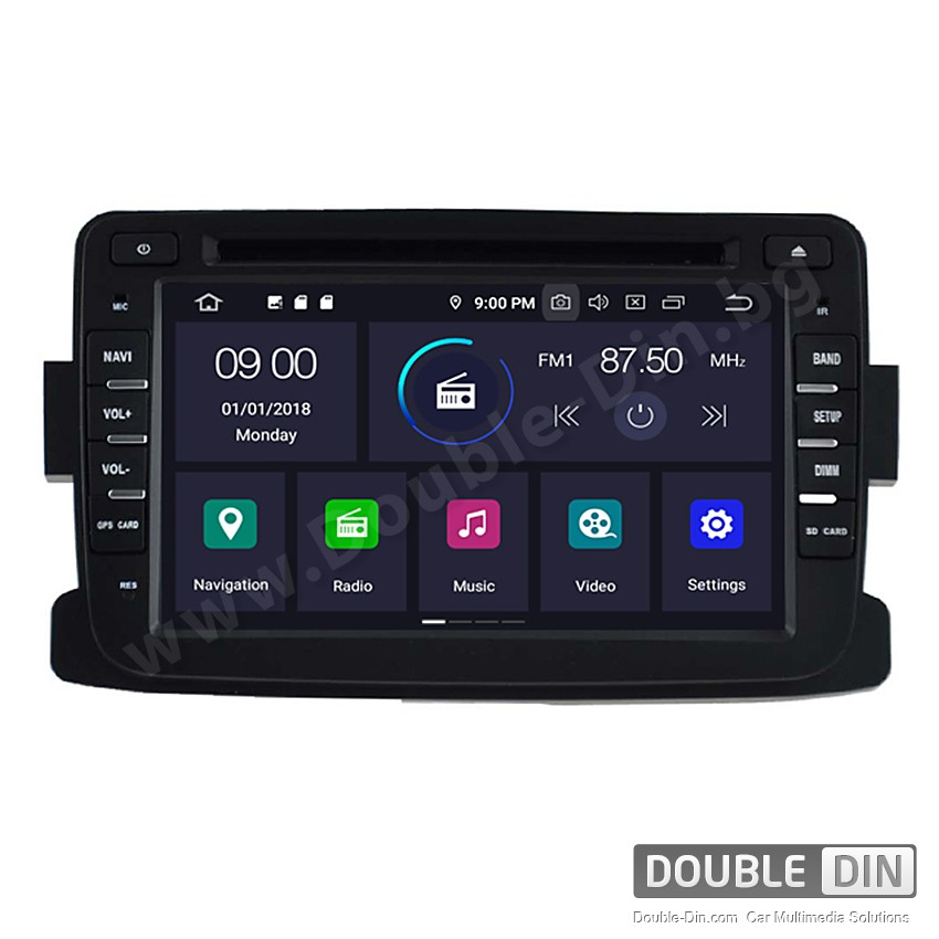 Навигация / Мултимедия с Android 10 за Renault / Dacia Duster  - DD-5787