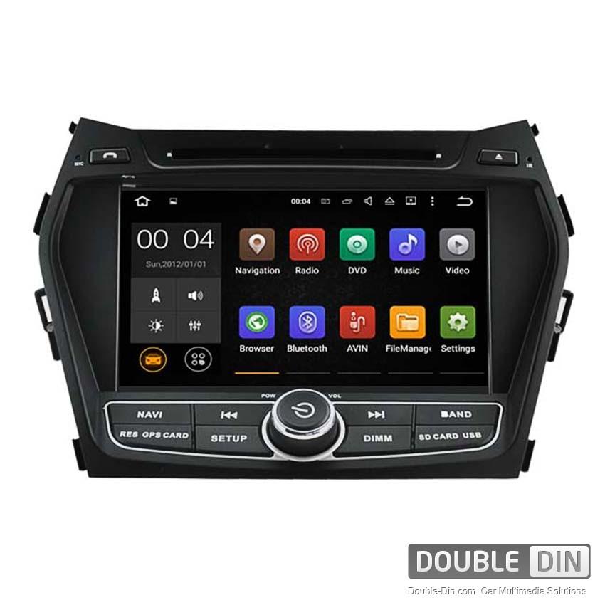 Навигация / Мултимедия с Android 8.0 или 7.1 за Hyundai IX45, Santa Fe  - DD-5798