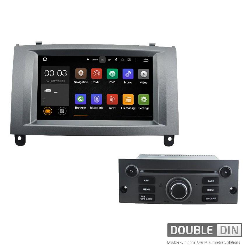 Навигация / Мултимедия с Android 9.0 Pie за Peugeot 407 - DD-5588
