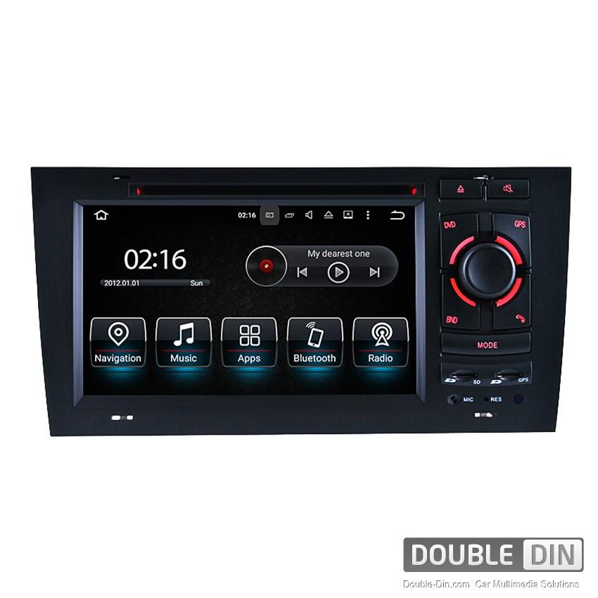 Навигация / Мултимедия с Android 8.0 или 8.1 за Audi A6  - DD-8721