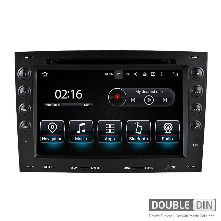 Навигация / Мултимедия с Android 8.0 или 8.1 за Renault Megane II  - DD-8741