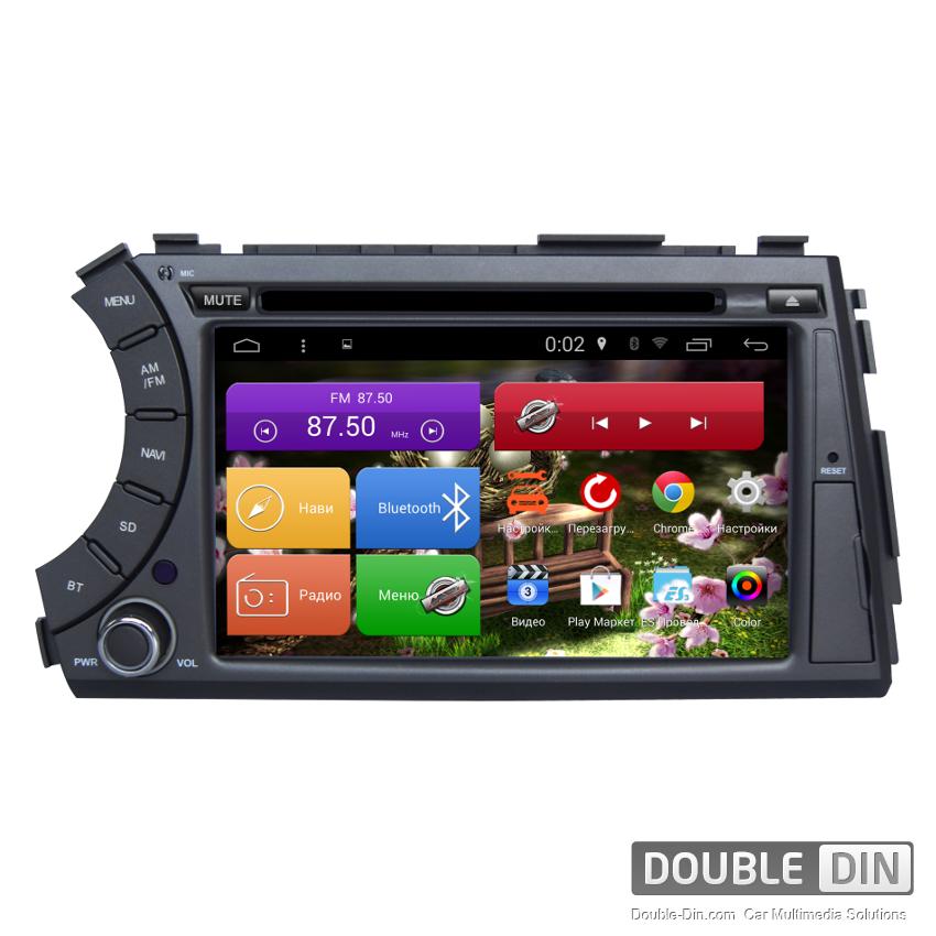 Навигация / Мултимедия с Android 5.1 за SsangYong Кyron - DD-7061K