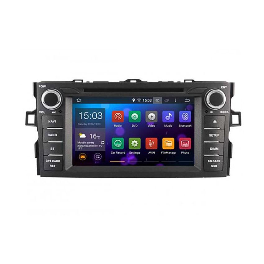 Навигация / Мултимедия с Android 8.0 или 7.1 за Toyota Auris - DD-5730