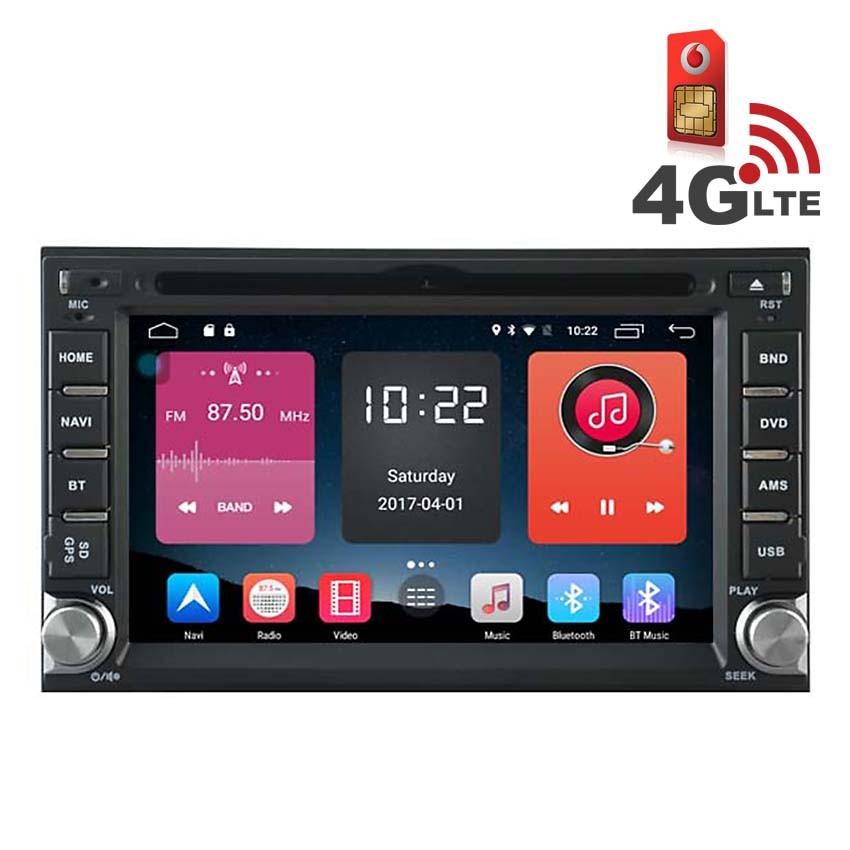 Навигация / Мултимедия с Android 6.0 и 4G/LTE за Nissan Qashqai, X-Trail и други DD-K7900