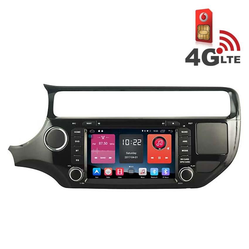 Навигация / Мултимедия с Android 6.0 и 4G/LTE за Kia Rio 2015 DD-K7592