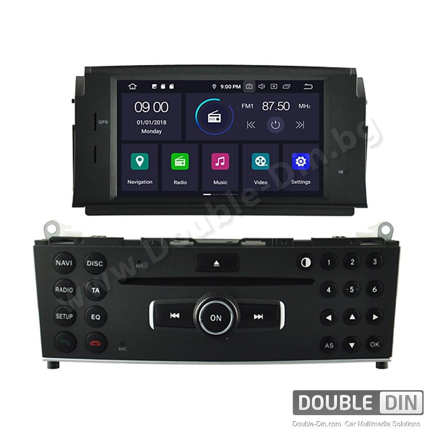 Навигация / Мултимедия с Android 10 за Mercedes C-class W204 - DD-5704