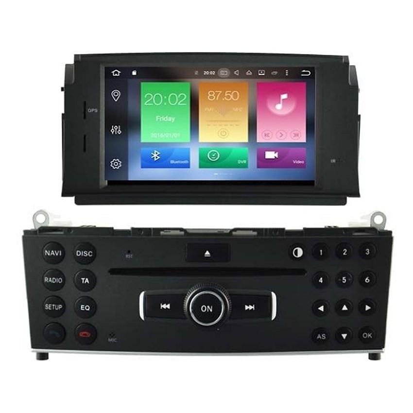 Навигация / Мултимедия с Android 8.0 или 7.1 за Mercedes C-class W204 - DD-5704
