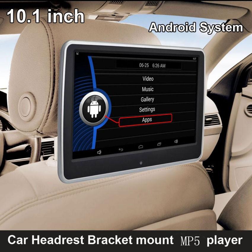 LCD-TFT Android 6.0 Монитор за подглавник с USB, SD, Игри, IR, FM - 10.1 инча