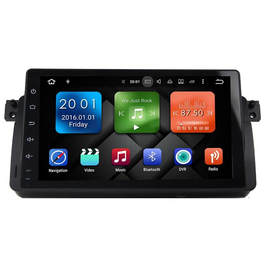 Навигация / Мултимедия с Android 6.0 и 4G/LTE за BMW E46 DD-9003