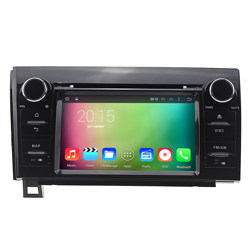 Навигация / Мултимедия с Android 8.0 или 8.1 за Toyota Tundra, Sequoia  - DD-7107