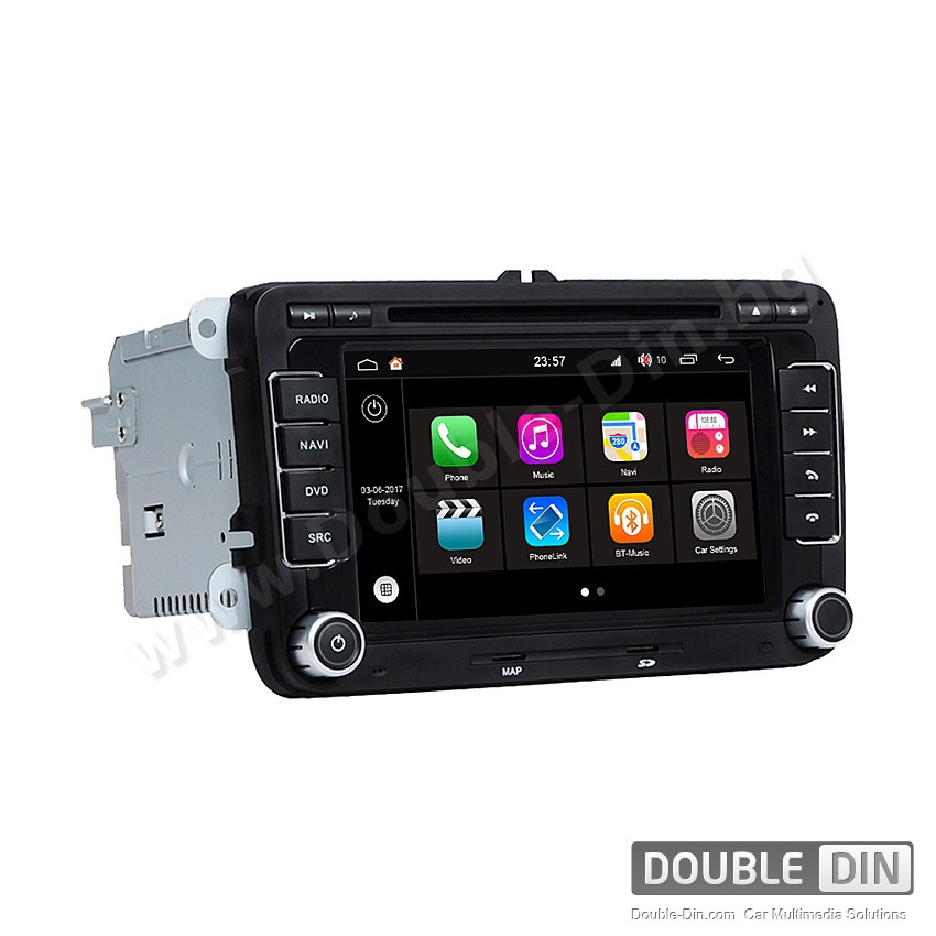 Навигация / Мултимедия с Android 7.1 NOUGAT за VW Golf, Passat, Tiguan, Touran, EOS, Caddy, Jetta и други - DD-Q004