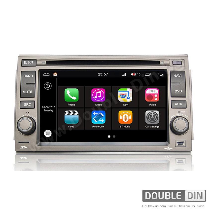 Навигация / Мултимедия с Android 7.1 NOUGAT за Hyundai Azera - DD-Q006