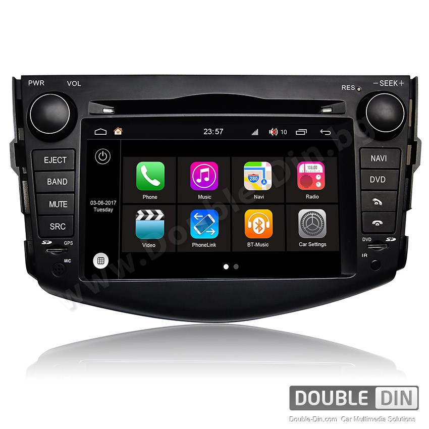 Навигация / Мултимедия с Android 7.1 NOUGAT за Toyota RAV4 - DD-Q018
