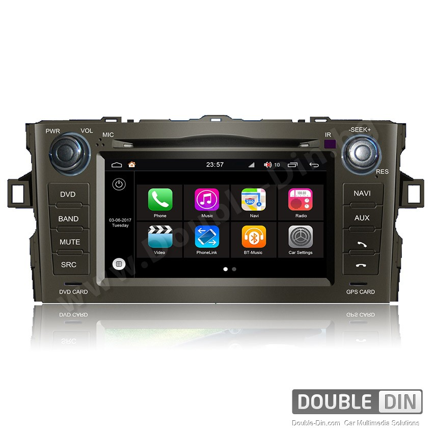 Навигация / Мултимедия с Android 7.1 NOUGAT за Toyota Auris - DD-Q028
