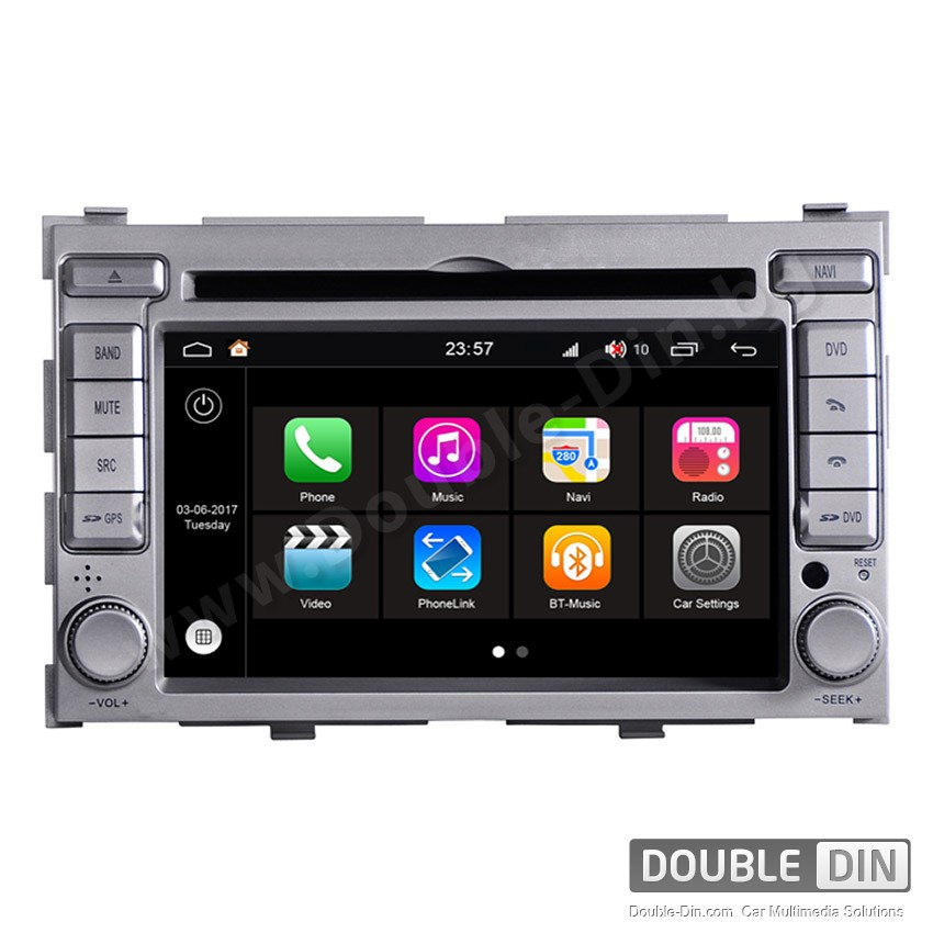 Навигация / Мултимедия с Android 7.1 NOUGAT за Hyundai I20 - DD-Q030