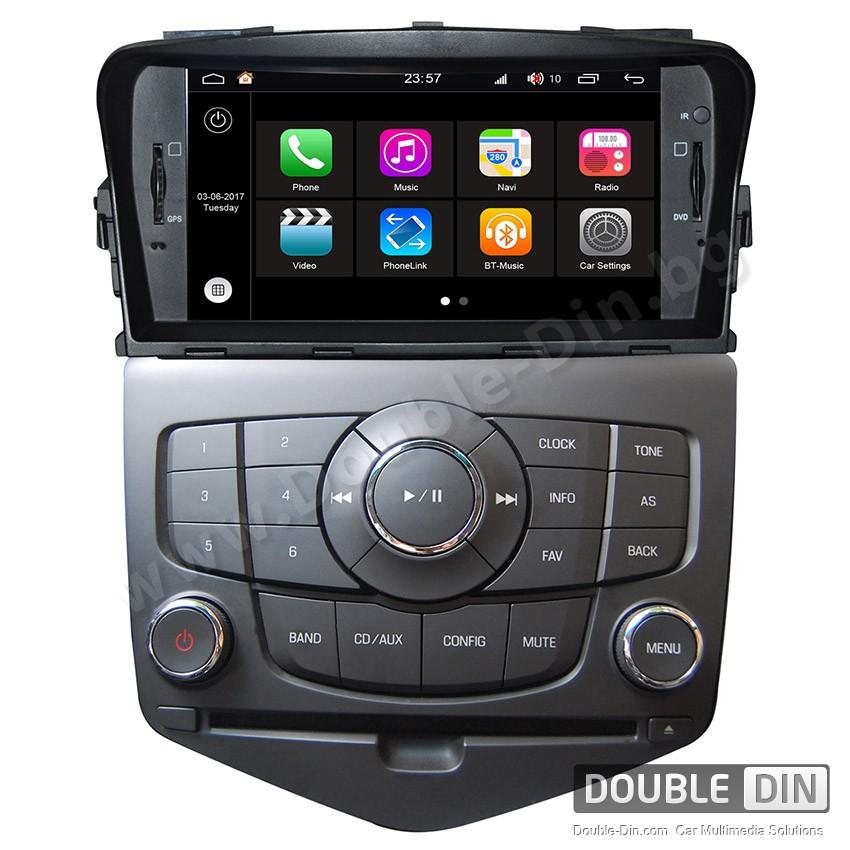 Навигация / Мултимедия с Android 7.1 NOUGAT за Chevrolet Cruze, Lacetti II - DD-Q045