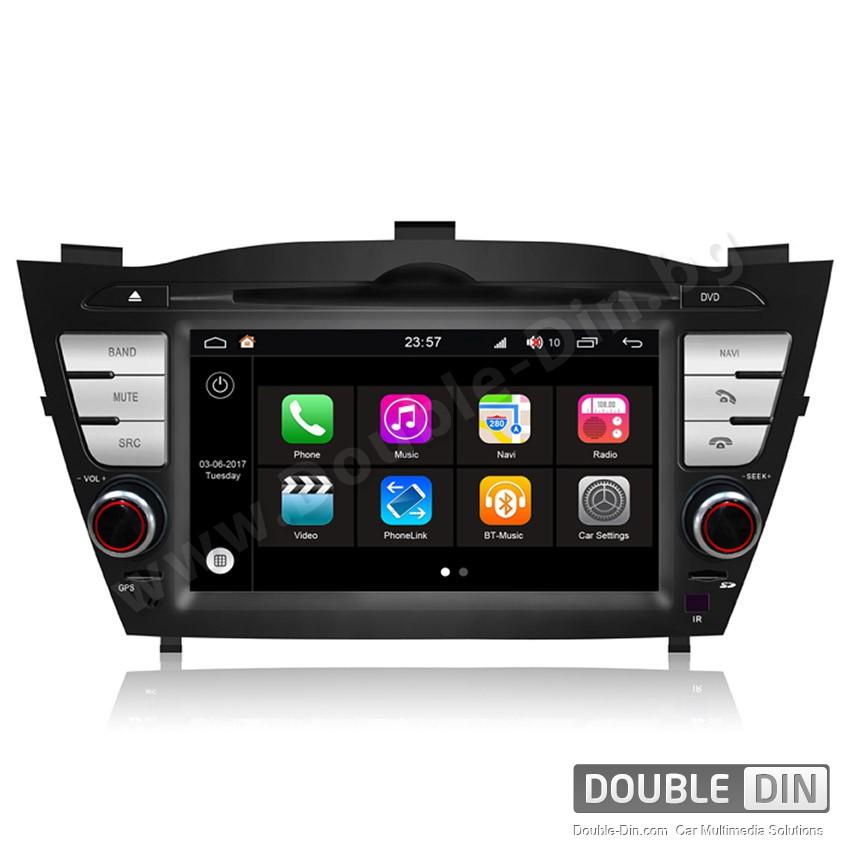 Навигация / Мултимедия с Android 7.1 NOUGAT за Hyundai IX35, Tucson - DD-Q047
