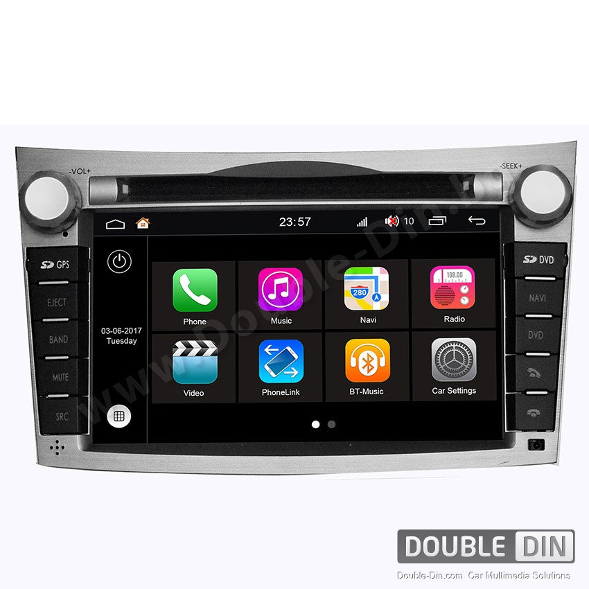 Навигация / Мултимедия с Android 7.1 NOUGAT за Subaru Legacy, Outback  - DD-Q061
