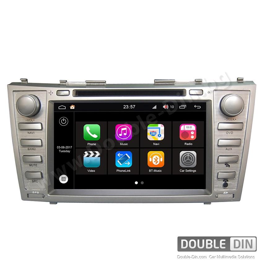 Навигация / Мултимедия с Android 7.1 NOUGAT за Toyota Camry - DD-Q064