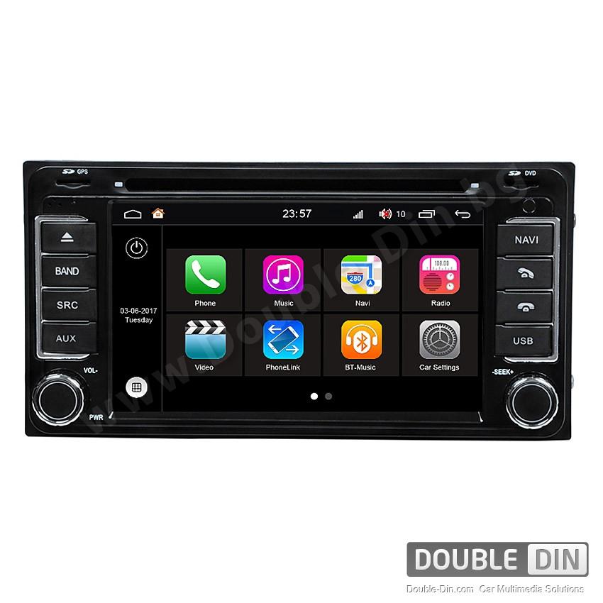 Навигация / Мултимедия с Android 7.1 NOUGAT за Toyota Corolla, Hilux, RAV4 и други - DD-Q071