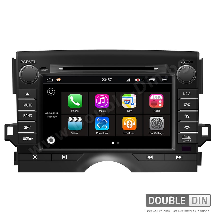 Навигация / Мултимедия с Android 7.1 NOUGAT за Toyota Reiz - DD-Q084