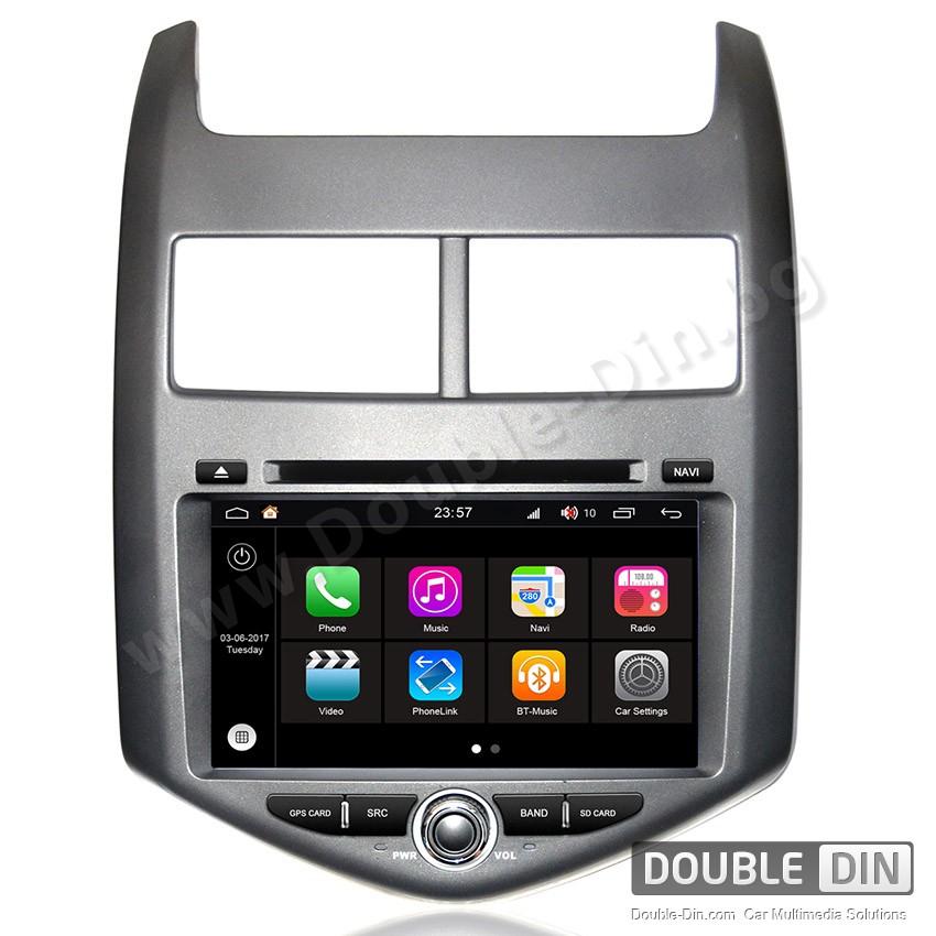 Навигация / Мултимедия с Android 7.1 NOUGAT за Chevrolet Aveo - DD-Q107