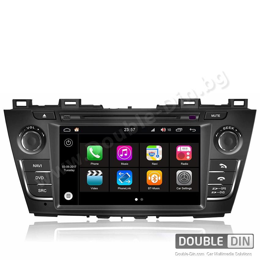 Навигация / Мултимедия с Android 7.1 NOUGAT за Mazda 5  - DD-Q117
