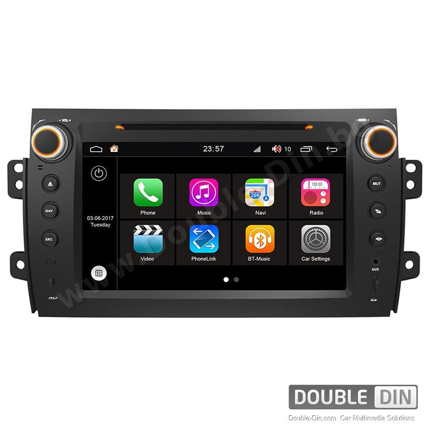 Навигация / Мултимедия с Android 7.1 NOUGAT за Suzuki SX4 - DD-Q124