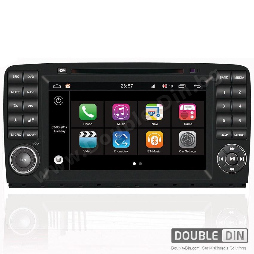 Навигация / Мултимедия с Android 7.1 NOUGAT за Mercedes R-class W251 - DD-Q215