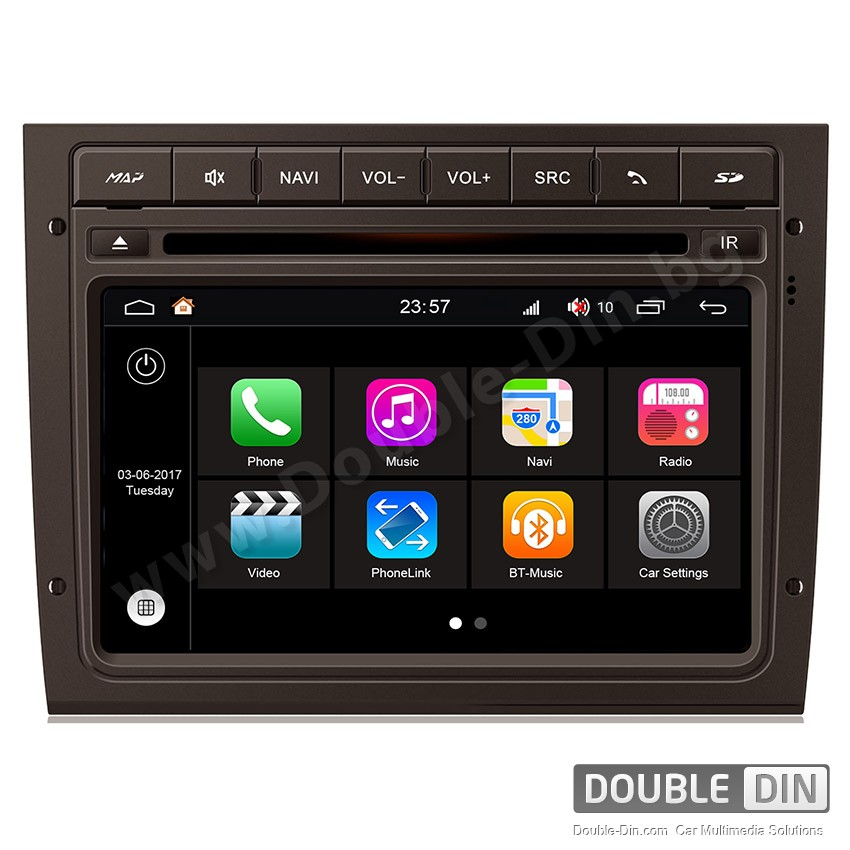 Навигация / Мултимедия с Android 7.1 NOUGAT за Chevrolet Caprice, Holden - DD-Q238