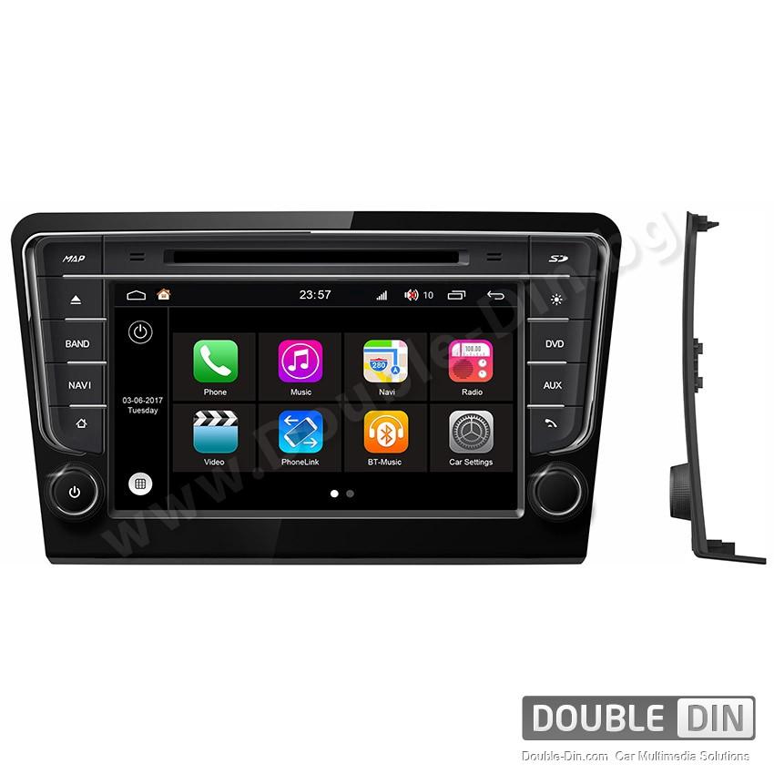 Навигация / Мултимедия с Android 7.1 NOUGAT за VW Bora - DD-Q244