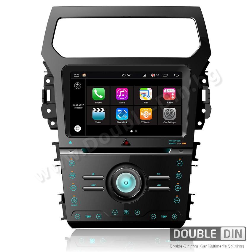 Навигация / Мултимедия с Android 7.1 NOUGAT за Ford Explorer - DD-Q254