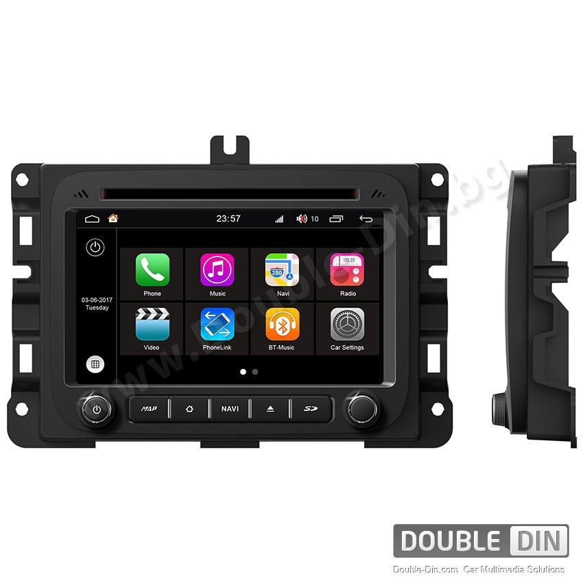 Навигация / Мултимедия с Android 7.1 NOUGAT за Dodge RAM 1500 - DD-Q286