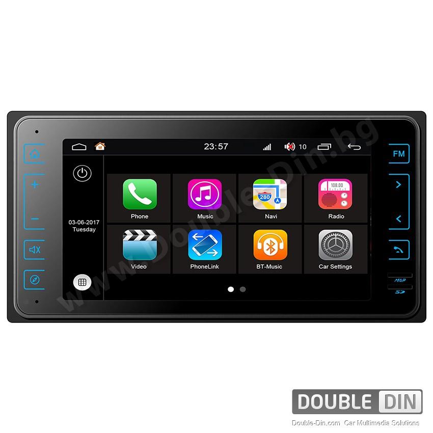 Навигация / Мултимедия с Android 7.1 NOUGAT за Toyota Corolla, Hilux, RAV4 и други - DD-Q572