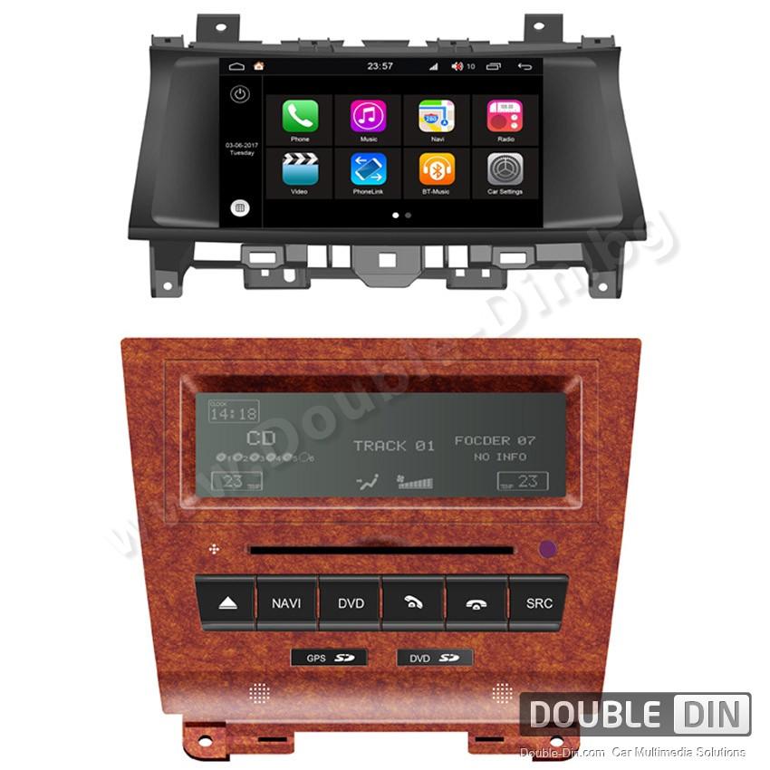 Навигация / Мултимедия с Android 7.1 NOUGAT за Honda Accord 8 - DD-Q051