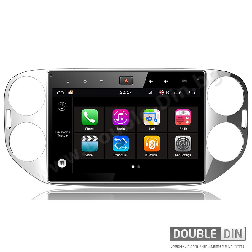 Навигация / Мултимедия с Android 7.1 NOUGAT за VW Tiguan - DD-Q489