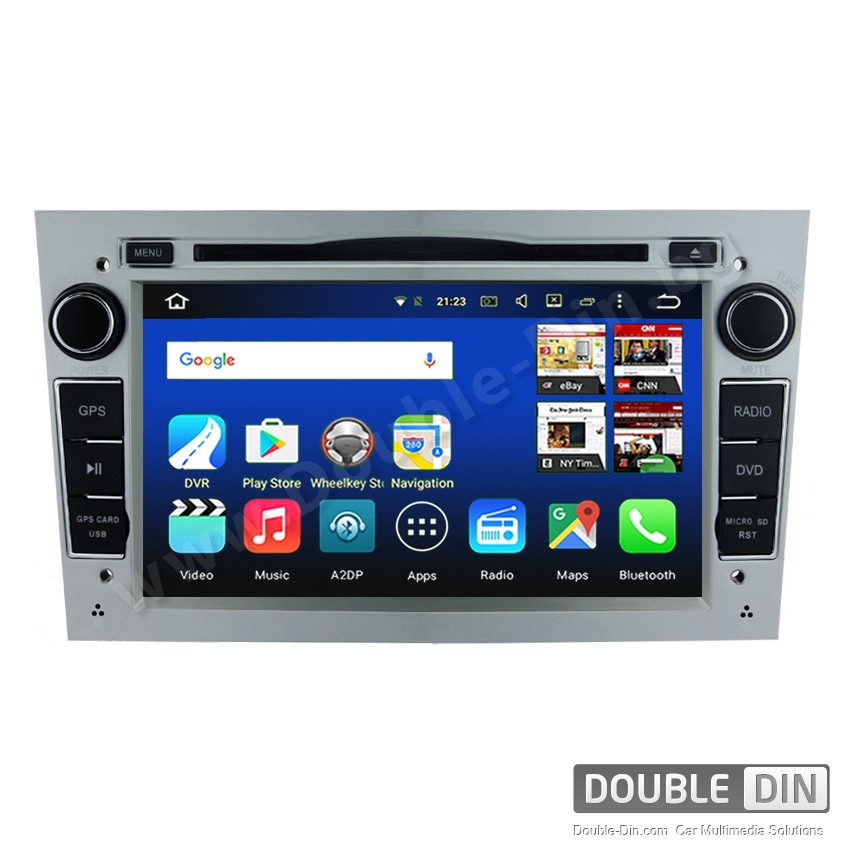 Навигация / Мултимедия с Android 8.0 или 7.1 за Opel Astra, Vectra, Zafira и други  - DD-7681
