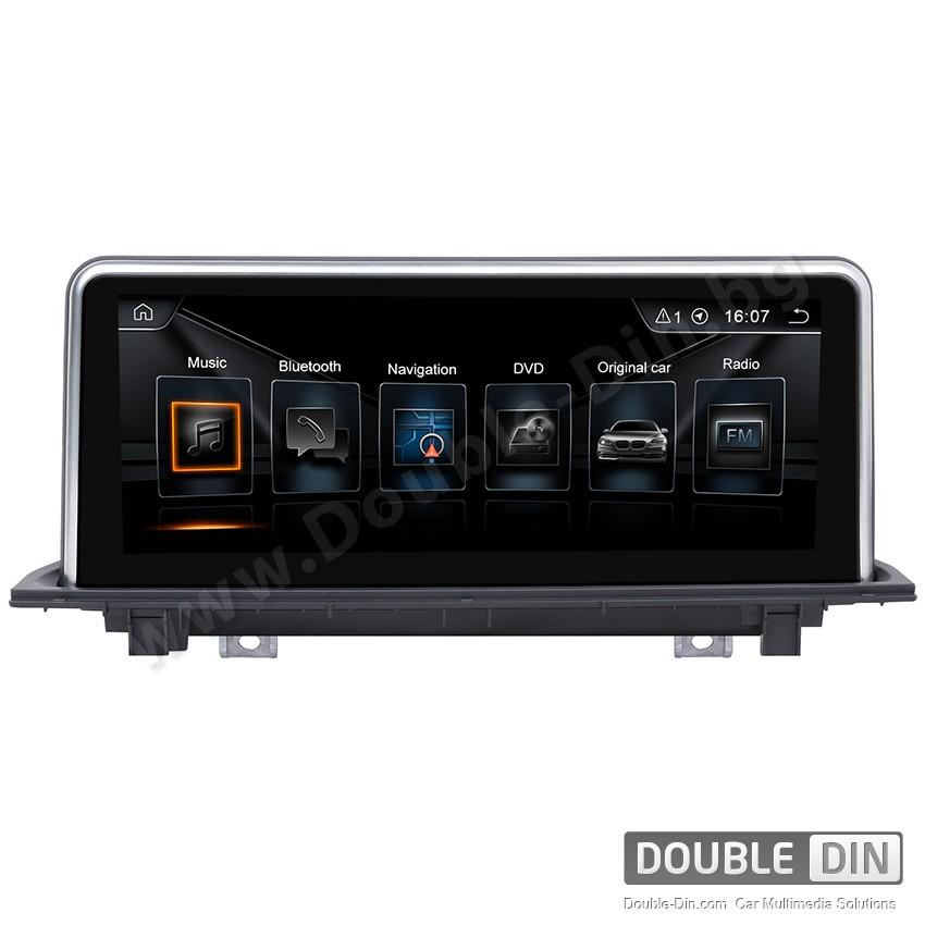 Навигация / Мултимедия с Android за BMW X1 F48 NBT с голям екран - DD-8209