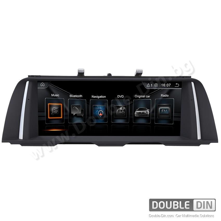Навигация / Мултимедия с Android за BMW F10/F11 CIC с голям екран - DD-8208
