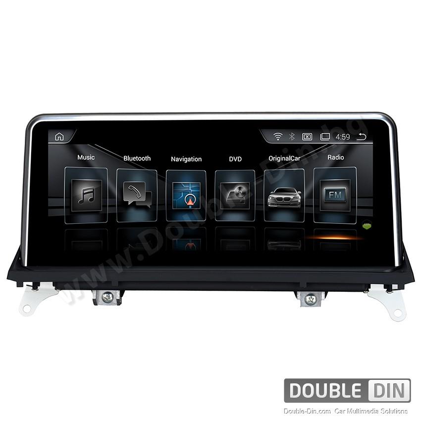 Навигация / Мултимедия с Android за BMW X5 E70 /X6 E71 CCC с голям екран - DD-8215