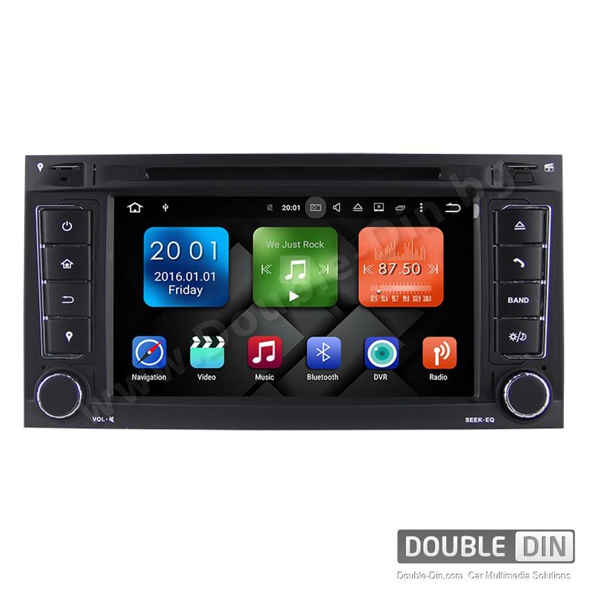 Навигация / Мултимедия с Android 8.0 или 7.1 за VW Touareg, T5 Multivan - DD-7056